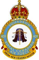 409 Sqn RCAF Roundel