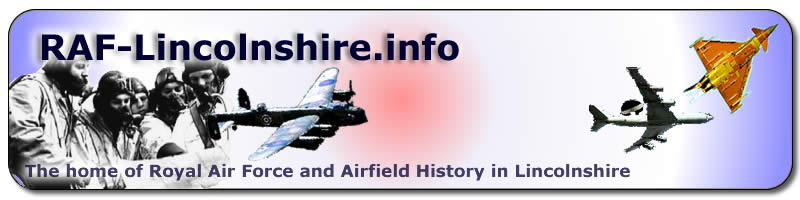 The home of Royal Air Force and airfield history in Lincolnshire (temporary logo only - please provide feedback!)