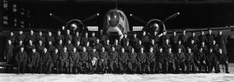 Photograph of 1 Sqn, 31 OTU shortly after May 1943 click for enlargement